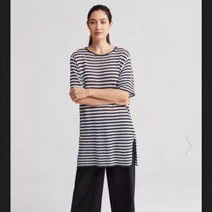 Brand New Eileen Fisher 3/4 Sleeve Tunic Medium